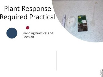 Plant Response Required Practical Planning with 9-1 Graded and Answers