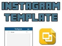 Instagram Template Editable On Google Slides