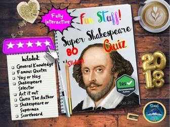 Quiz : Shakespeare Quiz