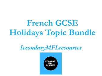 French Holidays - Les vacances