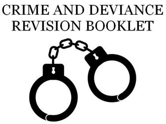AQA A-Level Sociology Crime & Deviance Bundle! [Whole