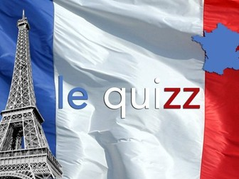 French End of Term Quiz