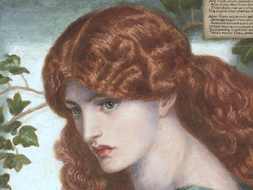 Christina Rossetti lessons and resources AS/A2