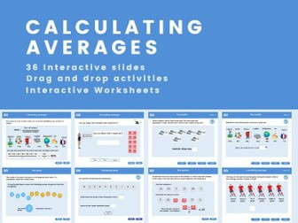 Calculating Averages - Year 7, Key stage 3 (US 6th grade)