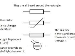GCSE Physics - Circuit symbols explained by advancedphysicstutor ...