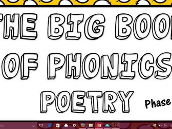 Phonics Poetry Phase 5