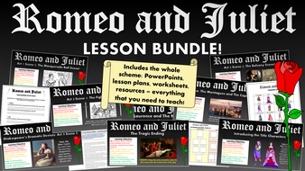 Romeo and Juliet Lesson Bundle!