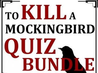 To Kill a Mockingbird Quiz Bundle (Set of 13)