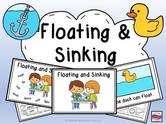 Science/Understanding the World Floating and Sinking Experiments, Activities & Emergent Reader