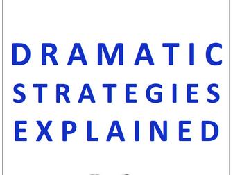 DRAMA STRATEGIES COMPLETE