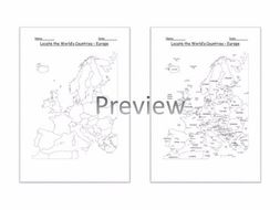 Geography locate the worlds countries using maps to focus on geography locate the worlds countries using maps to focus on europe ks2 gumiabroncs Images