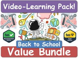 Back to School! Back to School! Back to School! [Video Learning Pack]