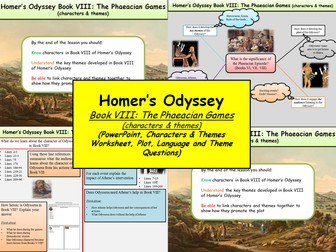 Homer's Odyssey – Book VIII: The Phaeacian Games (characters & themes)