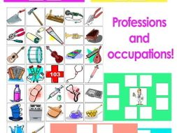 Professions and occupations!
