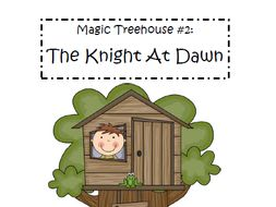 Magic Tree House Book #2: A Knight at Dawn Reading Comprehension Packet