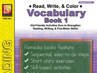 Read, Write, & Color: Vocabulary 1