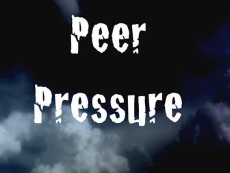 Peer pressure and bullying