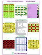 Irregular Plural Nouns 7 Game Plus 2 Worksheet Bundle
