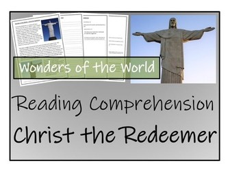 UKS2 History - Christ the Redeemer Reading Comprehension Activity