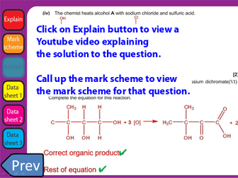 June 2018 OCR A Level Chemistry A with clickable links H432/02 Synthesis