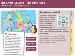Trade and Community - Interactive Teaching Book - Anglo-Saxon Britain KS2