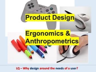 Ergonomics and Anthropometrics Theory