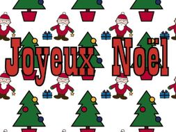 FRENCH - CHRISTMAS - Joyeux Noël Bumper Pack - Worksheets