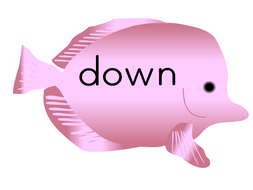 Phonic Fish for Phase 3 ow oi ear graphemes
