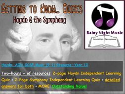 GCSE Music HAYDN and the SYMPHONY