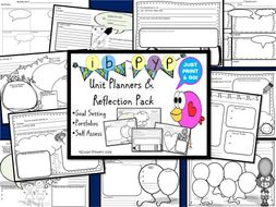 IB PYP Unit Planners and Reflection Pack