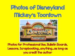 Photographs Around Disneyland: Toontown 1