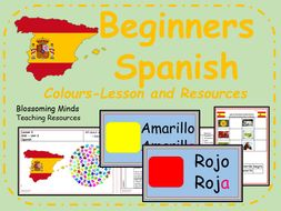 Spanish lesson and resources - Colours - KS2