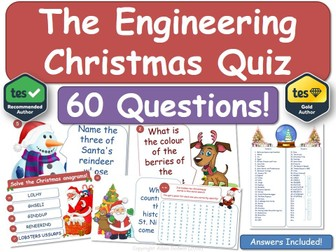 Engineering Christmas Quiz!