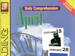 April: Daily Comprehension