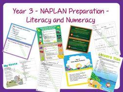 Year 3 - NAPLAN Preparation - Literacy & Numeracy