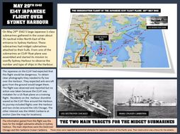 THE SURPRISE ATTACK OF JAPANESE MIDGET SUBMARINES IN SYDNEY HARBOUR 1942