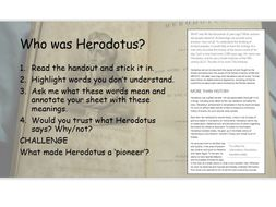 How significant and how accurate is Herodotus?
