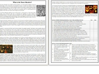 What is the Danse Macabre? -  Reading & Comprehension Exercises