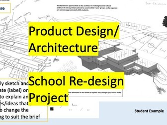 Redesign Your School Architecture Project