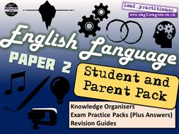 AQA English Language Paper 2 Student and Parents