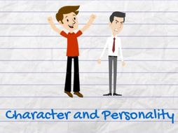 """""""Describe Your Character and Personality in English"""" Resource Pack for Teachers"""