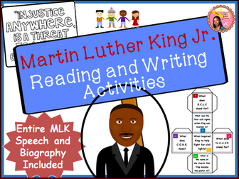 Martin Luther King Jr. Writing Activities