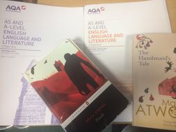 Complete pack for teaching AS level English Language and Literature (AQA)