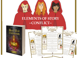 Elements of Story - Conflict -  For use with the middle grade novel, Miist