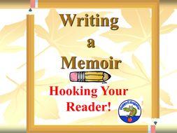 Writing Memoir Leads PowerPoint