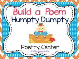 Build a Poem: Humpty Dumpty - Pocket Chart Center