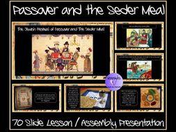 Passover: Seder Meal Presentation