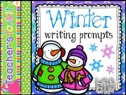Writing | Winter | Writing Prompts | Story Starters