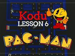 Kodu - Pac Man - Lesson 6