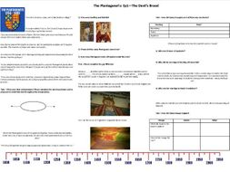 The Plantagenet's Ep1 The Devils Brood - Worksheet to support the BBC Documentary